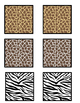 Zoo Animal Texture Matching Activity