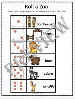 Zoo Theme Bundle Differentiated