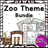 Zoo Theme Differentiated Activities and Worksheets