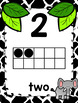 Zoo Animal Themed Number Posters 0-20