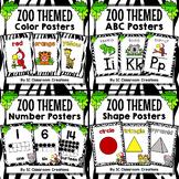 Zoo Animal Themed Poster Bundle-Classroom Decor