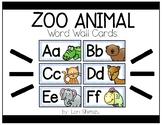 Zoo Phonics Word Wall Cards