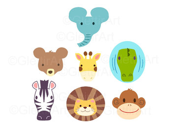 Zoo Animal clipart for personal and commercial use