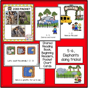 Zoo Animals Poem: 1-2, A Trip to the Zoo!