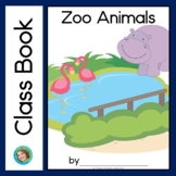 Zoo Animals Class Book with Sight Words