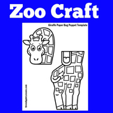 Giraffe Craft | Zoo Craft | Zoo Activity | Zoo Craftivity