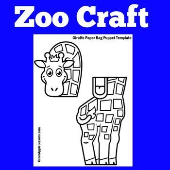 Giraffe Craft | Zoo Craft | Zoo Activity | Zoo Craftivity