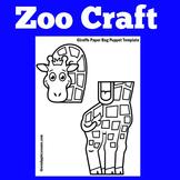 Zoo Craft | Preschool Kindergarten 1st Grade | Zoo Animals