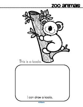 Zoo Animals Activity Printables