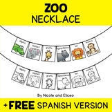 Zoo Animal Activity Necklace Craft