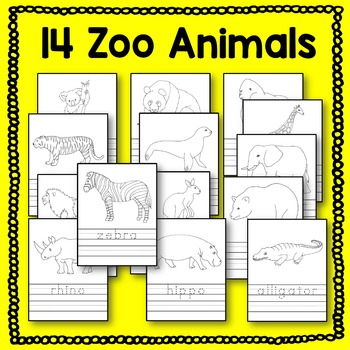 Zoo Animal Writing Activities