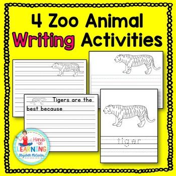 Zoo Animal Writing Activities