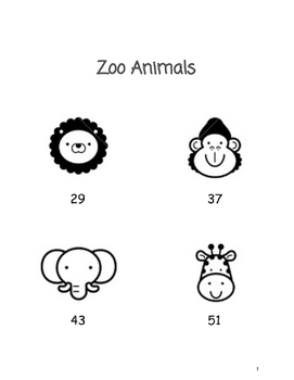 Zoo Animals - A Base 10 Project