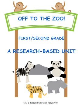 Zoo Animals - A Research Based Unit