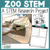 Zoo Animals: A STEM Research Project | {Digital & Print}