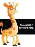 Zoo Animals Activity Pack