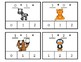Zoo Animals Adding to Ten Clip Cards