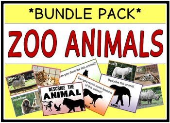 Zoo Animals (BUNDLE PACK)