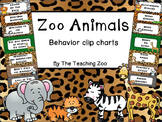 Zoo Animals Behavior Clip Chart {Jungle Safari Theme}