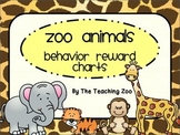 Zoo Animals Behavior Reward Charts {Jungle Safari Theme}