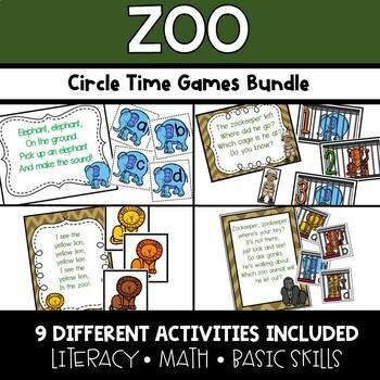 Zoo Animals Circle Time Activities