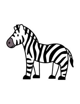 Zoo Animals Clip Art