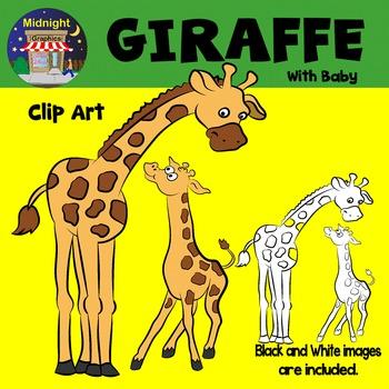 Zoo Animals Clip Art Bundle