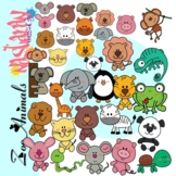 Zoo Animals Clipart