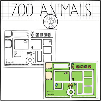 Zoo Animals Clipart Set