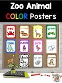 Zoo Animals Color Identification Posters {Jungle Safari Theme}