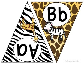 Zoo Animals Bundle - Complete Classroom Pack {Jungle Safari Theme}