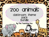 Zoo Animals Bundle - Complete Classroom Pack {Jungle Safar