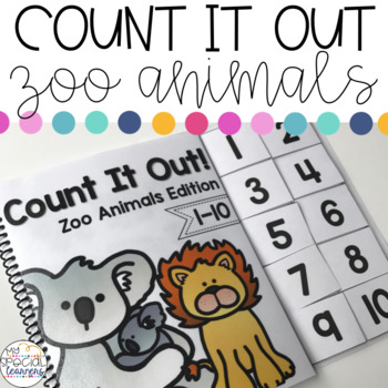 Zoo Animals Count It Out Adapted Book