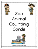 Zoo Animals Counting Cards