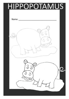 Zoo Animals - Drawing and Coloring Activities