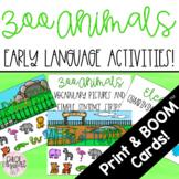 Zoo Animals Early Language Activities!