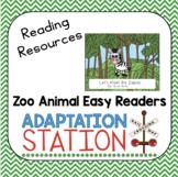 Zoo Animals Easy Readers