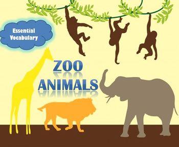Zoo Animals Essential Vocabulary Through Fun Activities