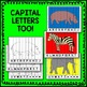 Zoo Animal Alphabet Puzzle Literacy Center