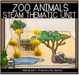 Zoo Animals Graph, Pocket Chart Titles and Question Page