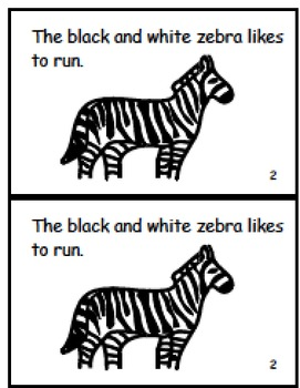 Zoo Animals Guided Reading Bundle!
