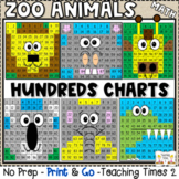 Zoo Animals Hundreds Chart Hidden Pictures