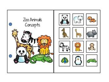 Zoo Animals Interactive Concepts book