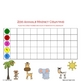 Zoo Animals Magnet Counting