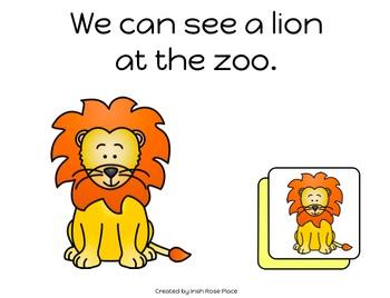 Zoo Animals Match Books (Adapted Books)