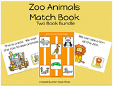 Zoo Animals Match Books (Adapted Books)