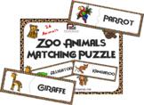 Zoo Animals Matching Game