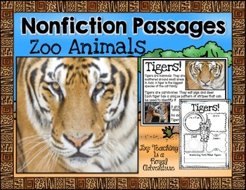 Zoo Animal Nonfiction Passages