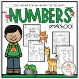 "Zoo Animals Numbers 1-10 ""No Prep"""
