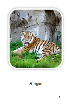 Zoo Animals (PL) Pre-Leveled, Guided Reading Leveled Book and Running Record